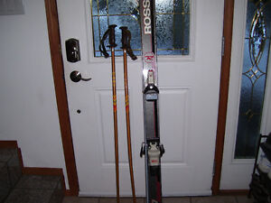 Rossinal skis.