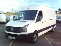 Volkswagen Crafter CR35 LWB 2.0 136PS H/R EURO 5 DIESEL MANUAL WHITE (2016)