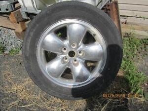 """20"""" Aluminum Wheel & Tire"""