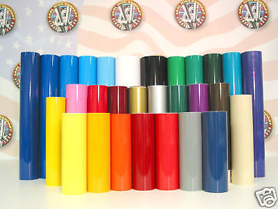 24 X 10yd Smt500 Hi Gloss 6 Yr Outdoor Sign Vinyl Film Craft Hobby Roll Colors