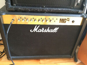 Marshall MG 100 fx  (100 watts transitor)