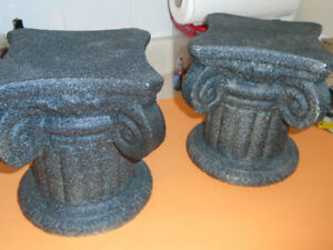 TWO  ROMAN  PILLARS for sale