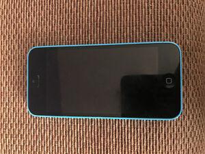 BLUE IPHONE 5C 16GB FACTORY UNLOCKED Kitchener / Waterloo Kitchener Area image 1