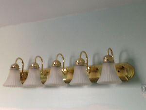 Light Fixtures - Price Negotiable!