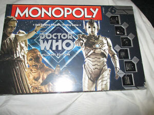 Monopoly Doctor Who Version Brand new never opened