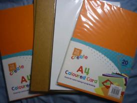 A4 Craft Card Set