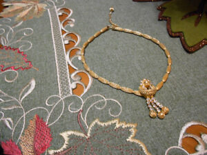 1960's Vintage Necklace and Clip On Earring Set