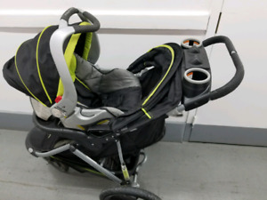 Stroller with baby carrier valid until Dec 2020