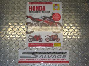 2008 -2013 honda cbr-1000rr work shop manual haynes