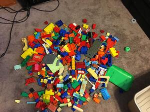 Duplo blocks - large set