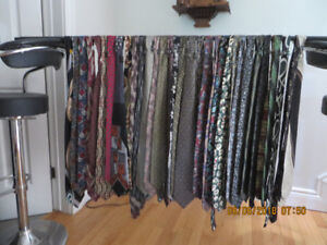 44 f ties, most of them  not used, $15 for ALL