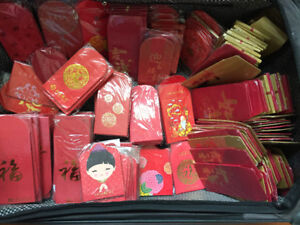 Lucky Red envelope / red packet brand new 15pcs / $1