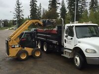 Need a dump truck ?? Call Synergy 780-909-0520