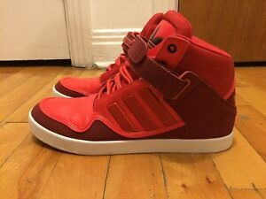 Japan Limited Edition!! Adidas Red High Tops Men's Size 9.5