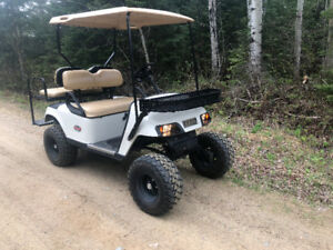 gas GOLF CART perfect for camping