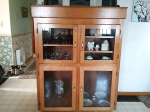Solid Birch Cabinet