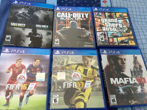 Selling PS4 with latest games