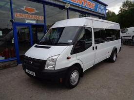 2012 FORD TRANSIT 135BHP T430 RWD 17 SEATER BUS AWAITING PREPARATION - 1 OWNER M