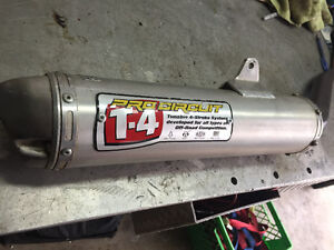 Yamaha grizzly performance exhaust