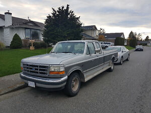 1992 Ford F-150 Pickup Truck - 8 ft Box