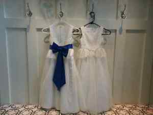 Flower girls dress size 6 & 7