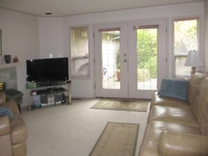 Fully furnished bungalow for rent in Quadra/Maplewood area