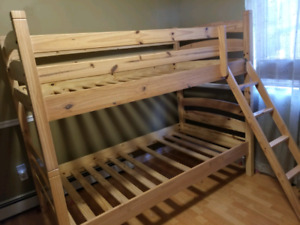 Bunk beds- solid wood