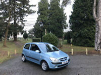 2006 Hyundai Getz 1.1 Atlantic 3 Door Hatchback Blue