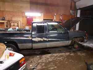 Truck and four wheeler for trade