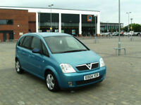 2004 Vauxhall/Opel Meriva 1.6i Design