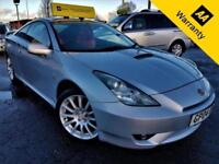 2004 TOYOTA CELICA 1.8 RED VVT-I 140 BHP! P/X WELCOME+FULL RED LEATHER+SPOILER!