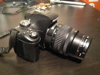 Pentax K-x Digital SLR with 2.7-inch LCD and 18-55mm f/3.5-5.6 A
