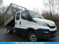 2016 66 IVECO DAILY 2.3 35C13D 126 BHP EURO 6 CAGED TIPPER BODY DIESEL