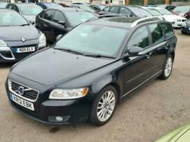 image for Volvo V50 1.6D DRIVe SE Lux Estate, Nav, Zer0 Tax Climate Air Leather CD ABS TC