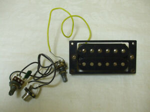 Guitar Humbucker Pickup with Pots Switch Jack and Fasteners