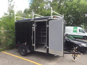 2015 6x12 enclosed trailer with extra height