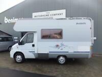 dethleffs advantage four berth motorhome for sale LHD