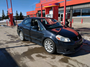 2008 Suzuki SX4 sports, Manual Transmission