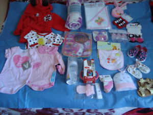 Newborn girl set