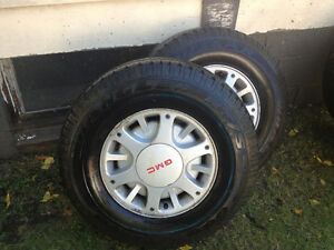 235 75 15 gmc rim and tires
