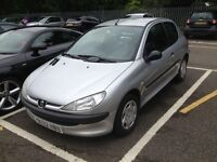2003 Peugeot 206 Diesel MOT TAX Brand new Exhaust