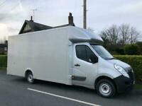 2020 NEWBUILD XL LARGEST LOW LOADER 15 VAUXHALL MOVANO MASTER LUTON VAN 17FT BOX
