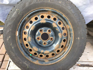 For Sale studded winter tires on rims