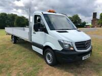 Mercedes Sprinter 3.5T **Extra Long 20ft** Dropside, Takes 6m Load Lengths