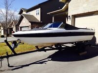 18.5 ft Marvac Bowrider with 60hp Johnson Outboard & Trailer