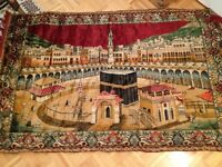 Rug, carpet, Tapis (Silk, Soie)