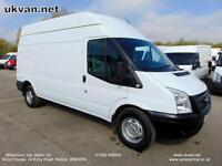 2013 13 FORD TRANSIT LWB, EURO5, RWD, HIGH ROOF, ONE FLEET OWNER, # 6 SPEED #