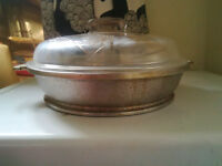 Vintage GUARDIAN SERVICE ALUMINUM COOKWARE – FRYING PAN / CHICKE