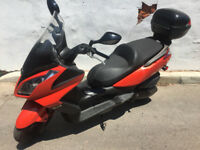 2011 Kymco Downtown 300 cc scooter City of Toronto Toronto (GTA) Preview