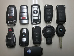 AUDI - VW - BENZ - BMW - PORSCHE - MINI KEY CUT & PROGRAMMED